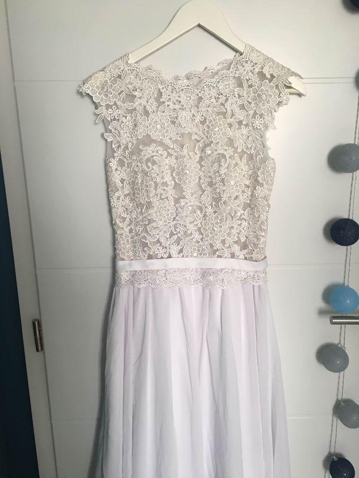 Čipkované svadobné šaty (nové) - Obrázok č. 2