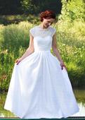Svatební šaty Vintage styl - 38, 38