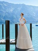 Svadobné šaty - Model 1061, 38