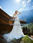 Zlacnené svadobné šaty - Model 1062, 38