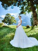Svadobné šaty - Model 1053, 38