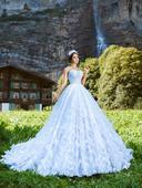 Svadobné šaty - Model 1047, 38