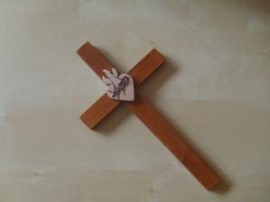 krížiček na prísahu