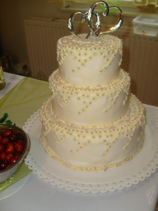 Mária {{_AND_}}Ján - Naša svadobná tortička