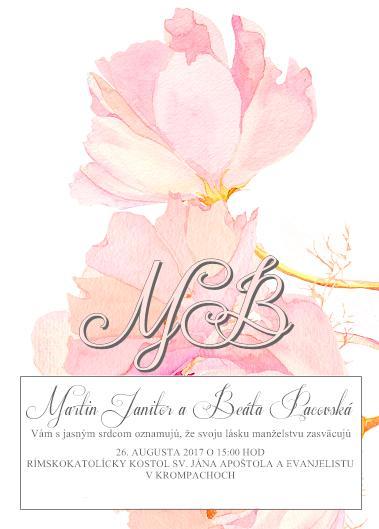 b67c4ad7e57f Ukážte Vaše svadobné oznámenia - - Svadobné oznám... - str. 18
