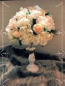 Květinová dekorace na stůl,