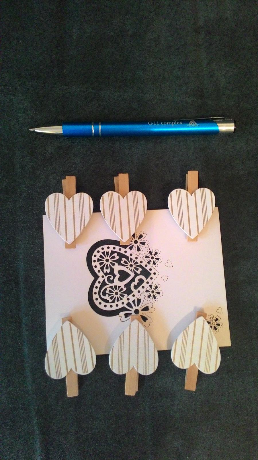 Kolíčky se srdíčky - Obrázek č. 1