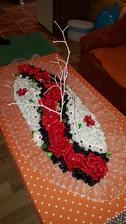 Ikebana na hlavný stôl