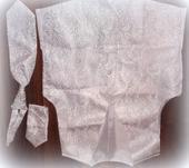 Vesta, kravata, vreckovka, 36