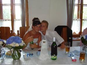 ještě jedna ze svatební  hostiny na hájence