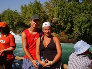 turecko vodopády svatební cesta