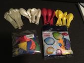 Balóny viacfarebné 44ks,