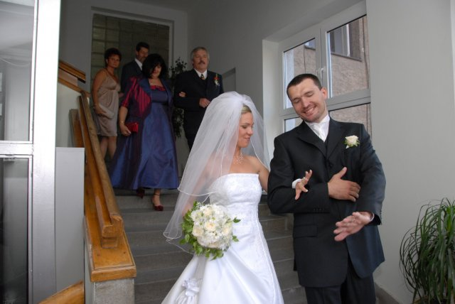 A&D{{_AND_}}náš svadobný deň - mladomanželia