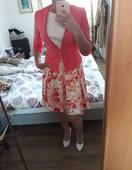 Šaty sako lodičky psaníčko , 38