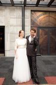 Svadobné šaty krémové, 38