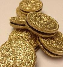 Cukrovinky pro děti, samozřejmě zlaté :D