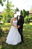 Svatební šaty vel. 42, 42