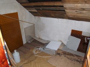 Budoucí koupelna - původní stav