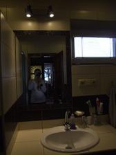 Koupelna se zrcadlem