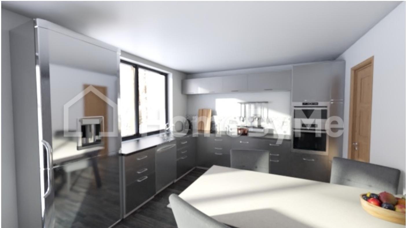 Náš sen - Vizualizace kuchyně