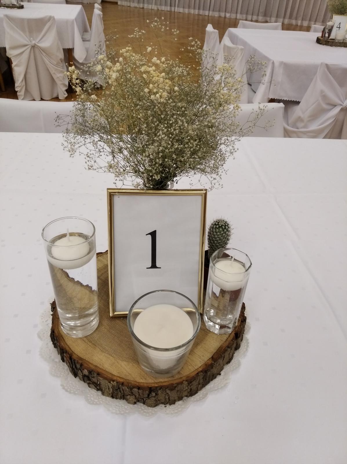 dekorácie na stôl - Obrázok č. 2