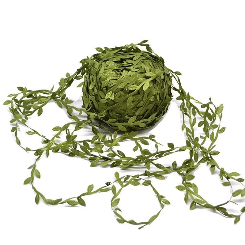 zelená stuha - lístky - Obrázok č. 1