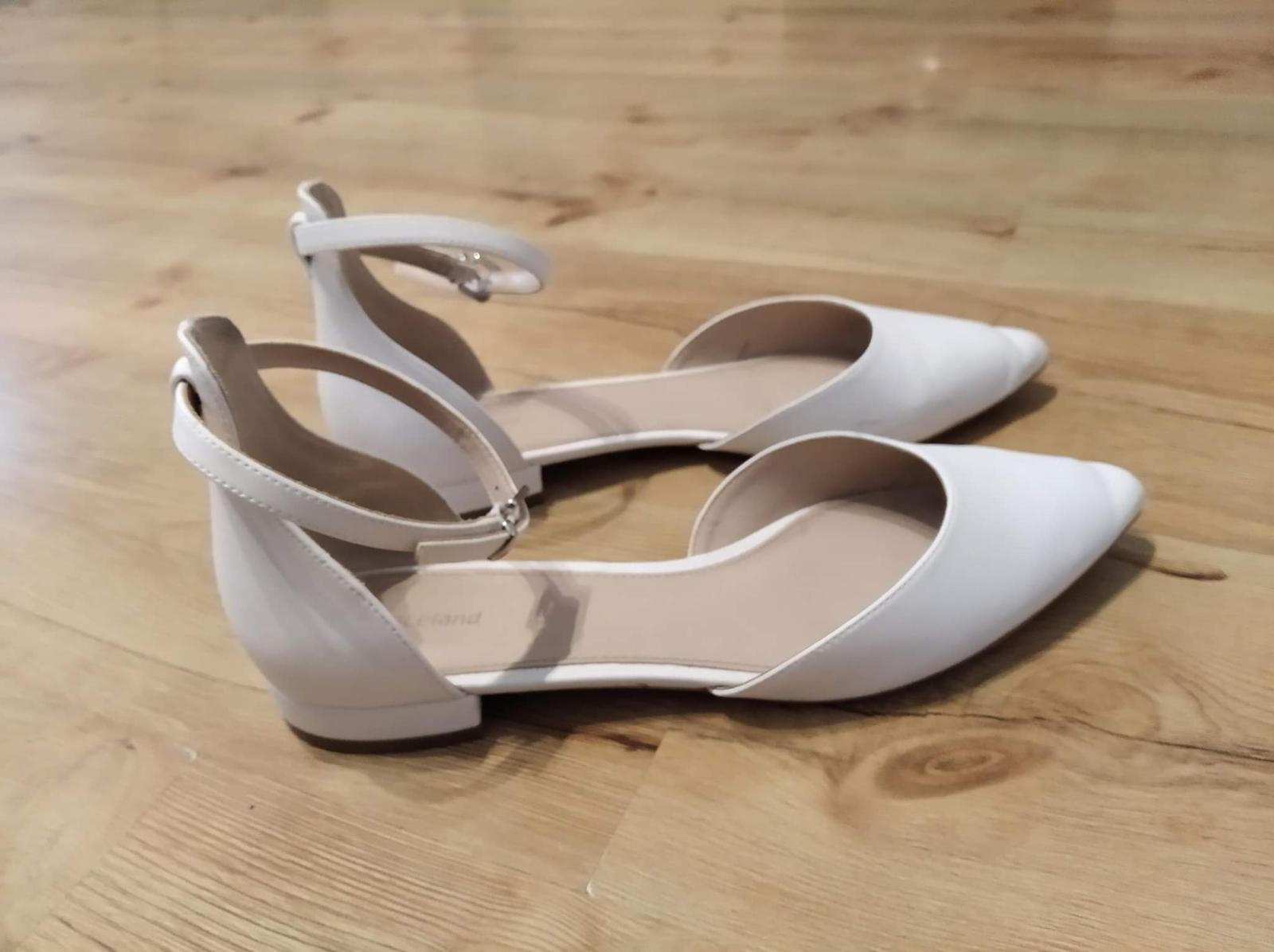 svadobné topánky veľk.41 - Obrázok č. 1