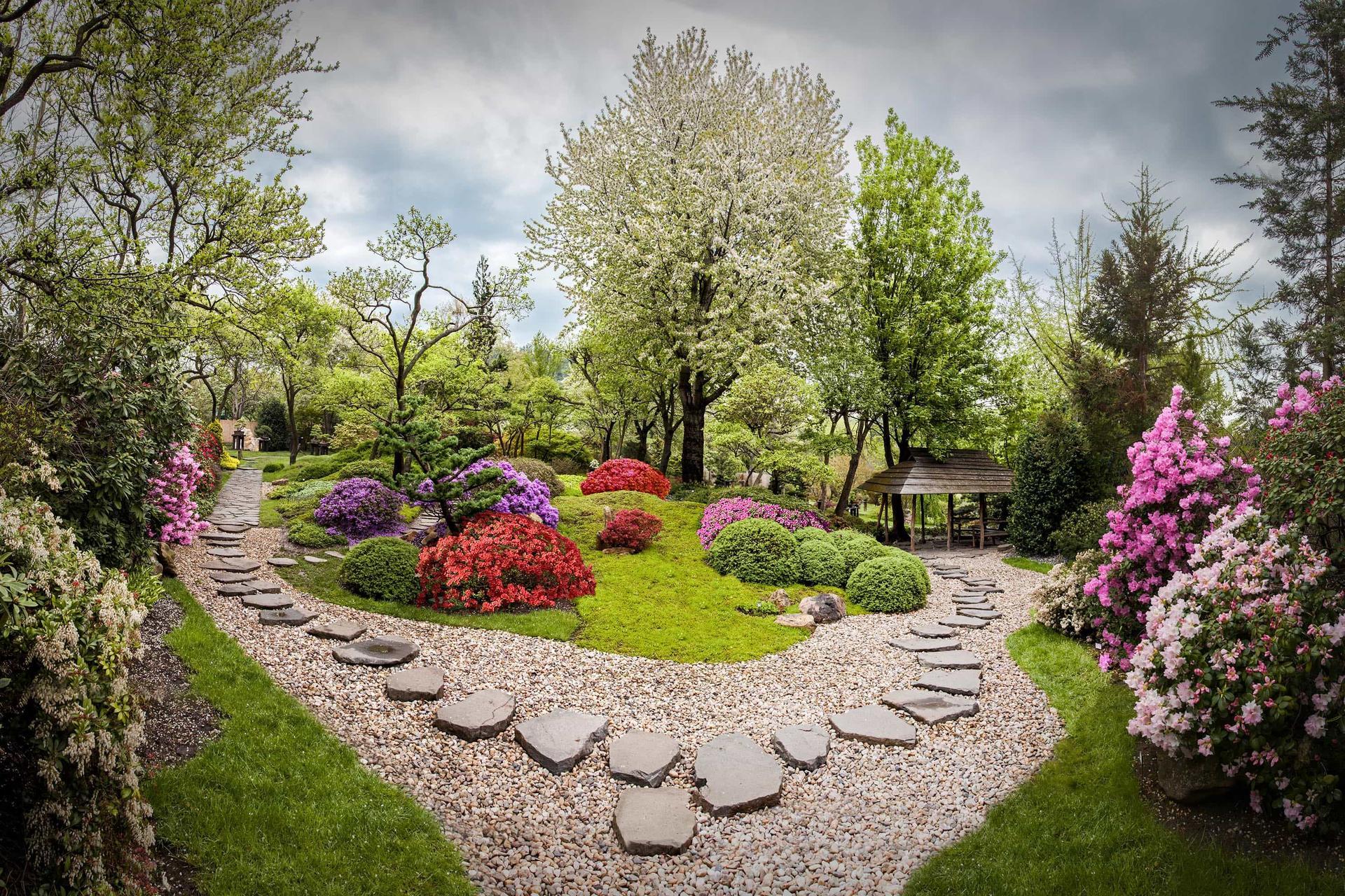 Čo už máme 7.5.2021 - miesto na obrad - Japonská záhrada