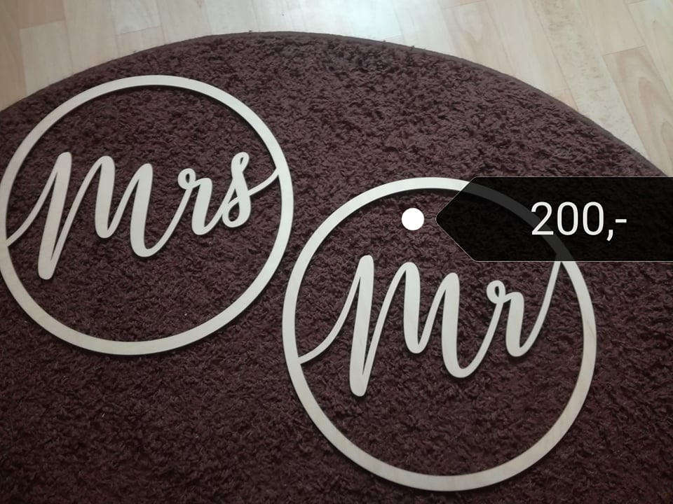 Dřeven Mrs Mr - Obrázek č. 1