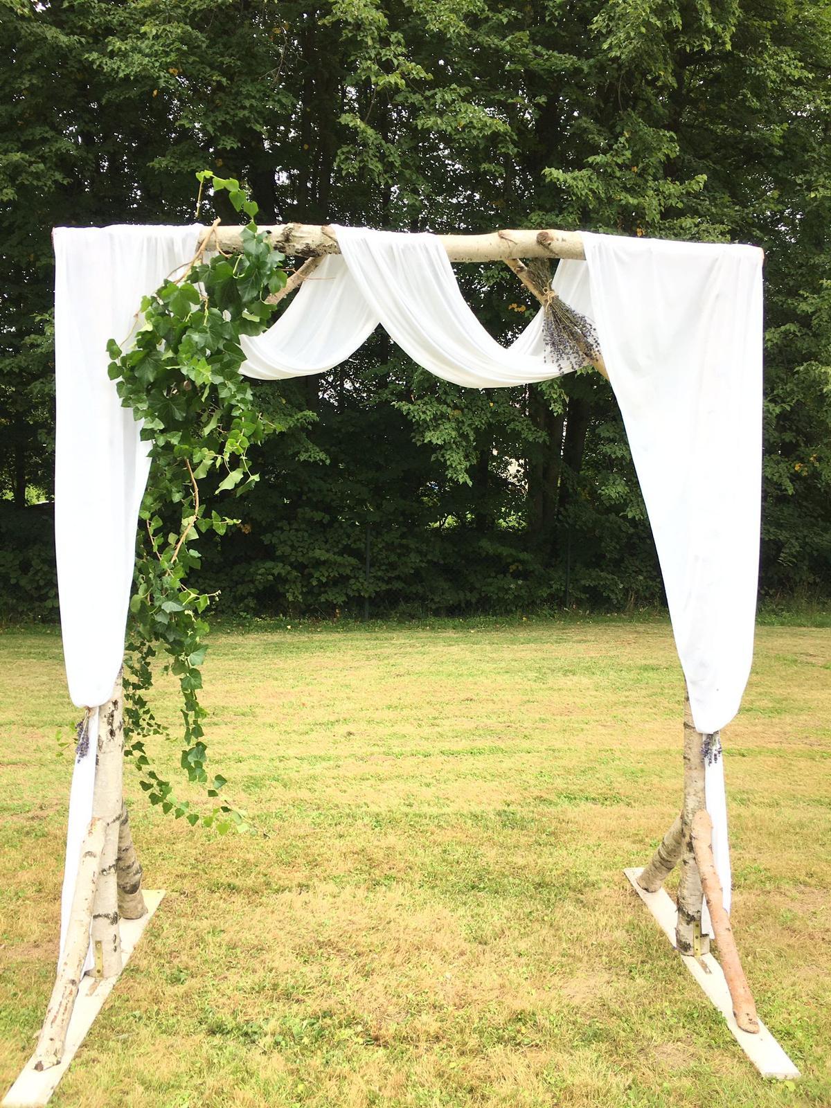 Svatební oblouk - Obrázek č. 1