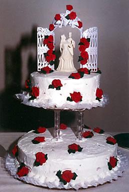 Calixia - Svadobná tortička.