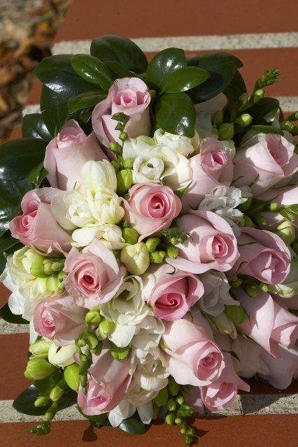 Vlasta a Honzík - ...růží a frézií