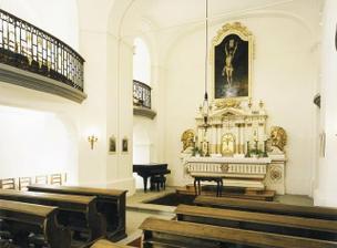 kaple zámku Kozel..