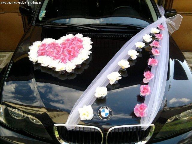 Naše krááásne a romantické zásnuby :o) 24/12/2009 :o) - výzdobka auta