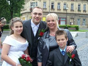 Fotečka se ženichem