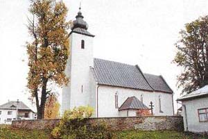 Začiatok krásnej cesty... - Kostol sv. Mikuláša...tu bude sobáš