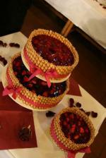 tak nakonec takový dortík, jen se žlutým ovocem :-)...je nádherný