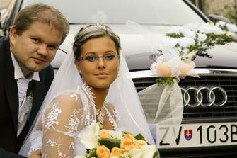 To sme mi pri našom super svadobnom aute