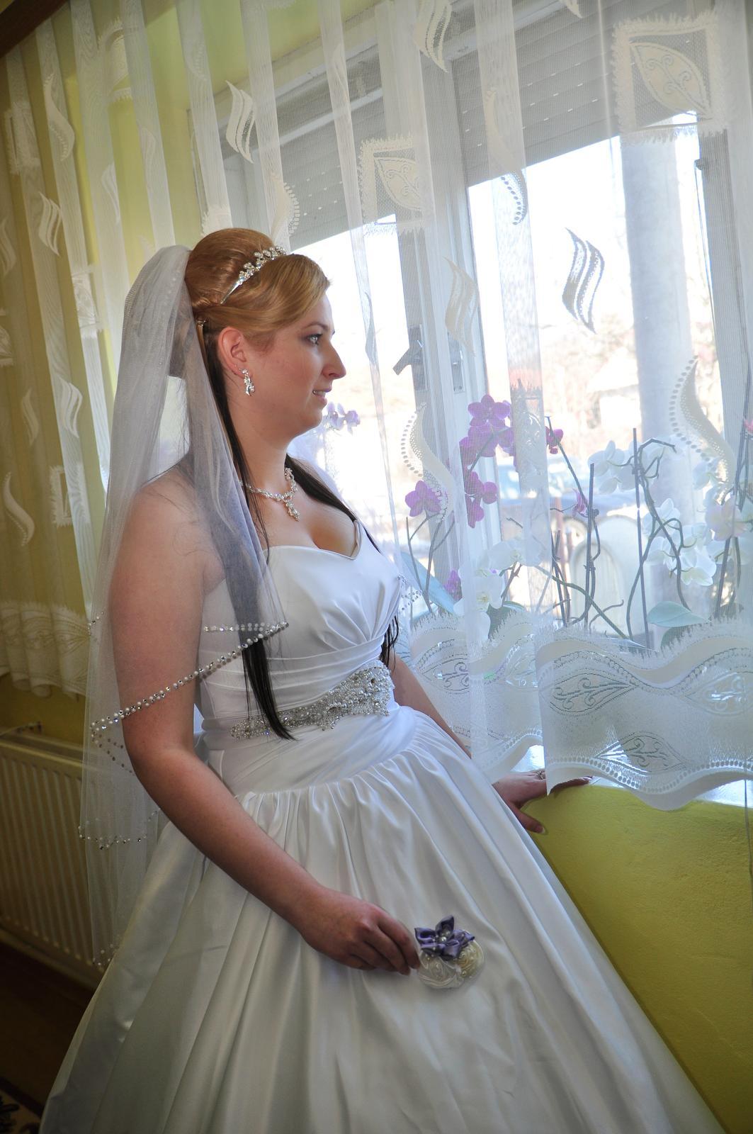 Svadobné šaty veľ. 40-44 - Obrázok č. 2