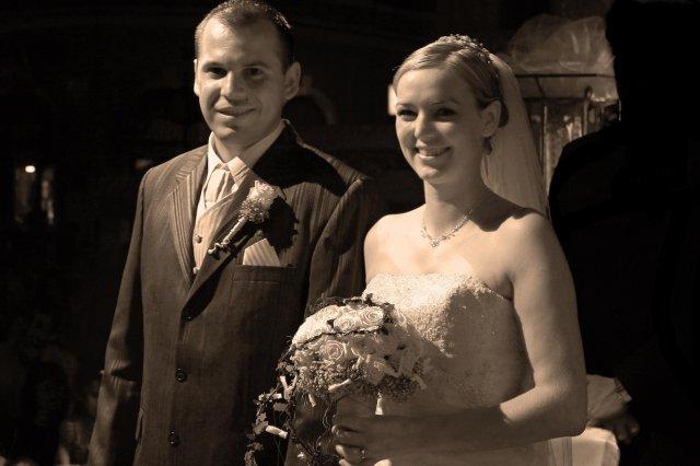 G{{_AND_}}V - šťastní novomanželia :)