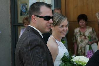 08.08.2009 - 1. výročie sme oslávili cirkevným sobášom
