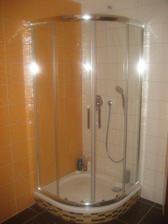 sprchovací kút RIHO Hamar 90x90, vanička ROLTECHNIK Tahiti P, podomietková batéria