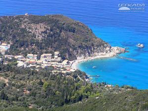 Naše letovisko na západním pobřeží Agios Nikitas