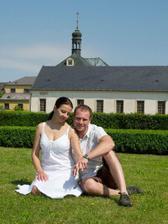 Zkouška svatebních fotek