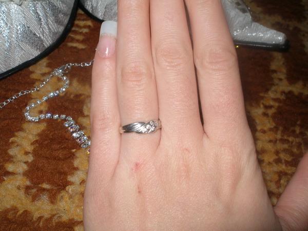 Mima a Bandi - ...zásnubný prstienok,ktorým to všetko začalo...presne 22.júla 2006...