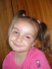 naša dcérka Simonka-prvá družička
