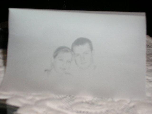 9. september 2006 - naše svadobné oznámenie - vlastná výroba, prvá strana