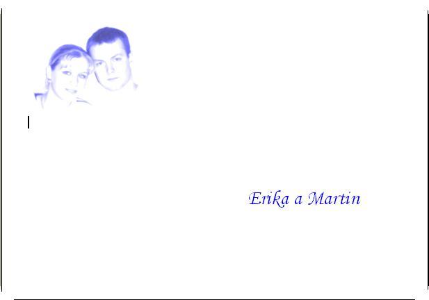 9. september 2006 - naše obalky na svadobné oznámenia