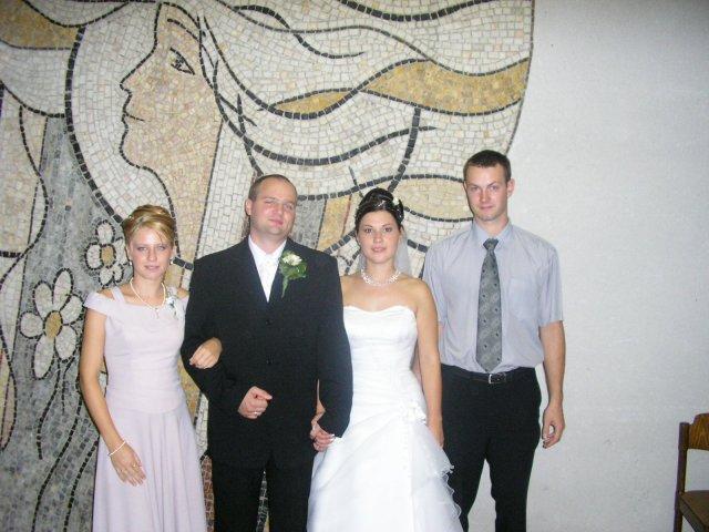 9. september 2006 - ja s priatelom na kolegininej svadbe - Keva 24.9.2005