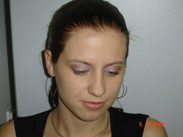 9. september 2006 - Skúška svadobnéh make-upu